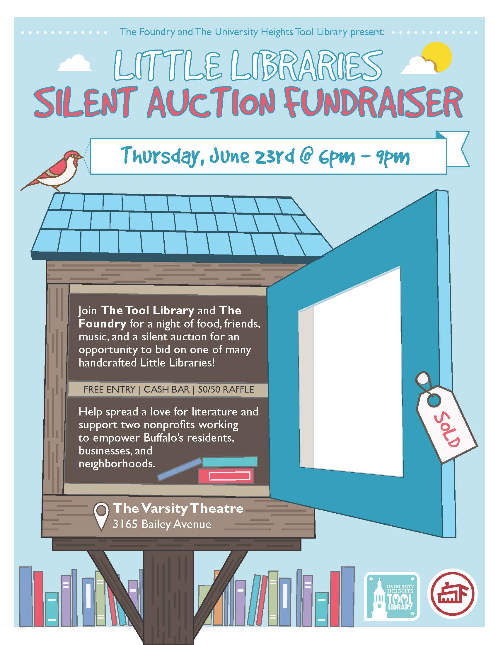 LittleLibraryAuctionFlyer